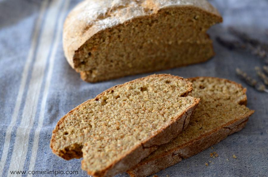 Pan ecológico integral de espelta